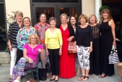 WPHS Girls Night Out 2015 - Brios - Claudia Cook, Patty Sullivan, Debbie Jones, Randy Mesmer, Becky Sewell, Kathy Kuyken