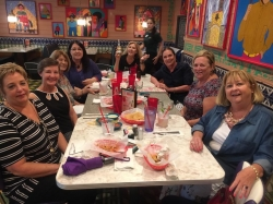 WPHS Girls Night Out - 2017 - Chewy's -Kathy Kuykendall, Becky Sewell, Carol Williams, Dani Zummo, Carol Swanson, Randy