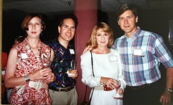 Bruce Ammerman & his wife with Sharon Stevenson Huffman & Leon Huffman...