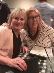 Debbie Picton Prussiano and Carol Swanson Norman - dinner at Linda LaCantina